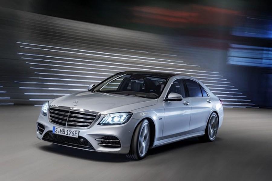 搭插电式混动系统 海外将销售新款奔驰S560e车型