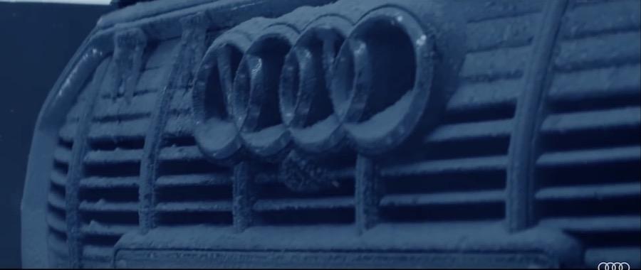 奥迪发布e-tron量产版预告视频 9月17日首发亮相