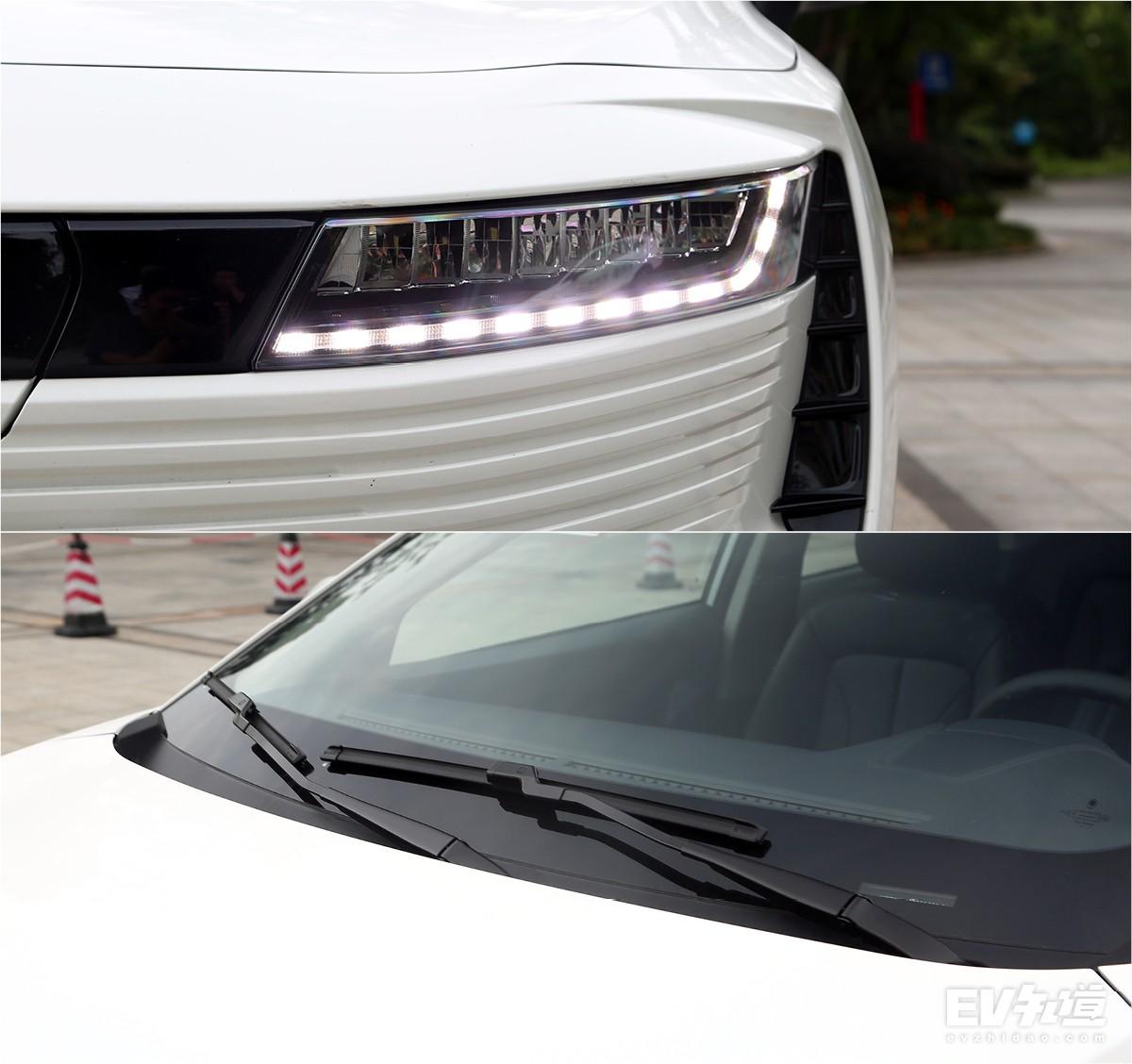 全系标配LED大灯 长城欧拉iQ购车手册