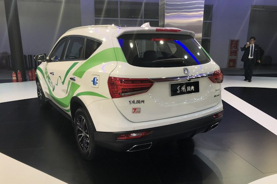 东风风光580 PHEV正式上市 补贴后售13.69万元
