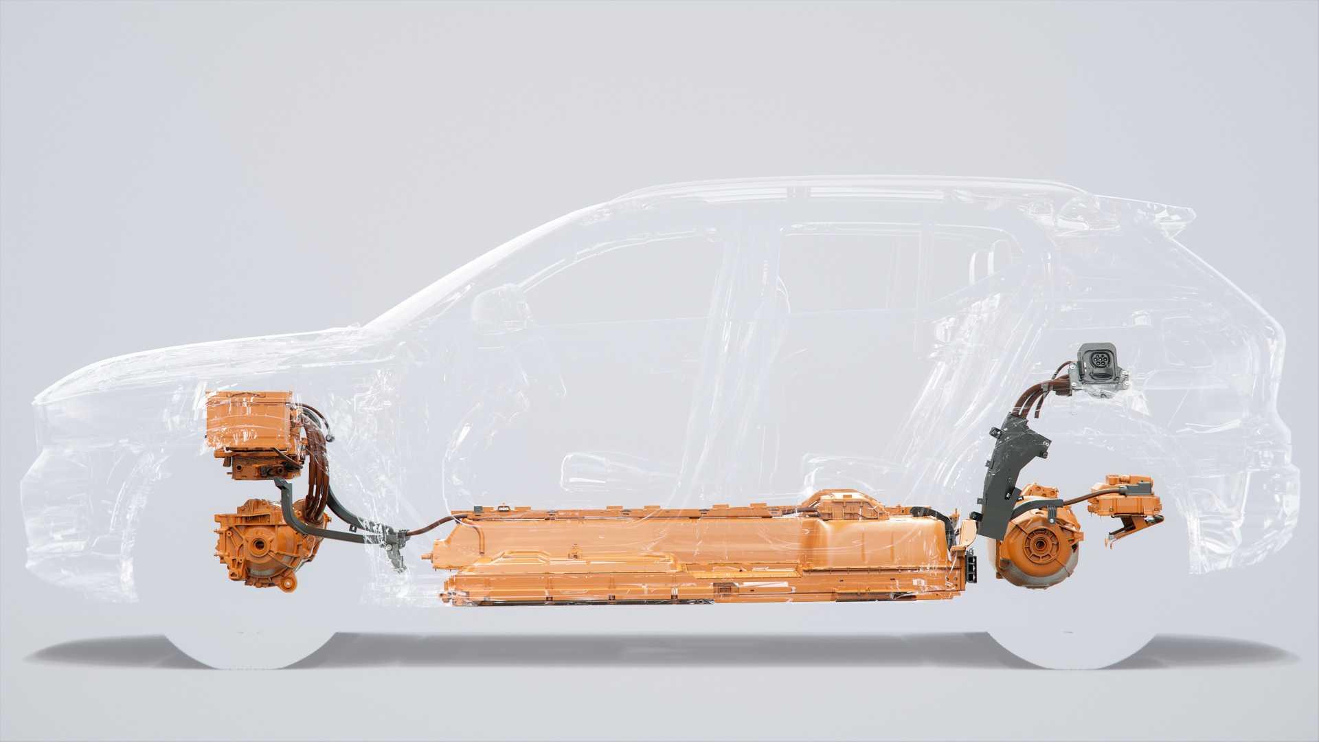 沃爾沃首款純電動車型 純電動版XC40預告圖發布