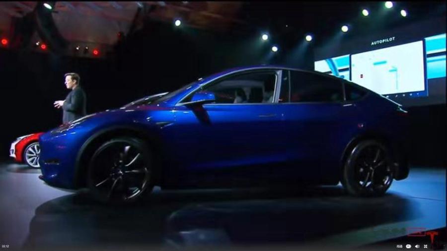 售价3.9-6万美元 特斯拉Model Y正式发布