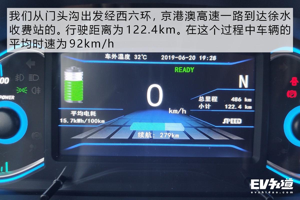 """難道是一塊""""快樂表""""? 全網首測北汽新能源EC5"""