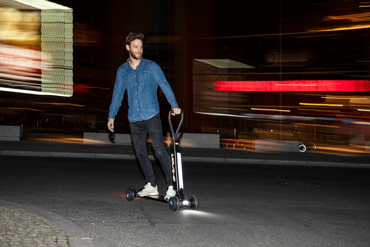 奥迪将推e-tron滑板车 于2020年底生产销售