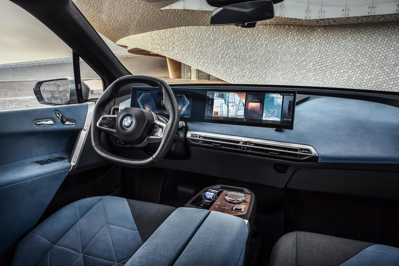 首搭5G技术 宝马iX将于2021年上海车展亚洲首发