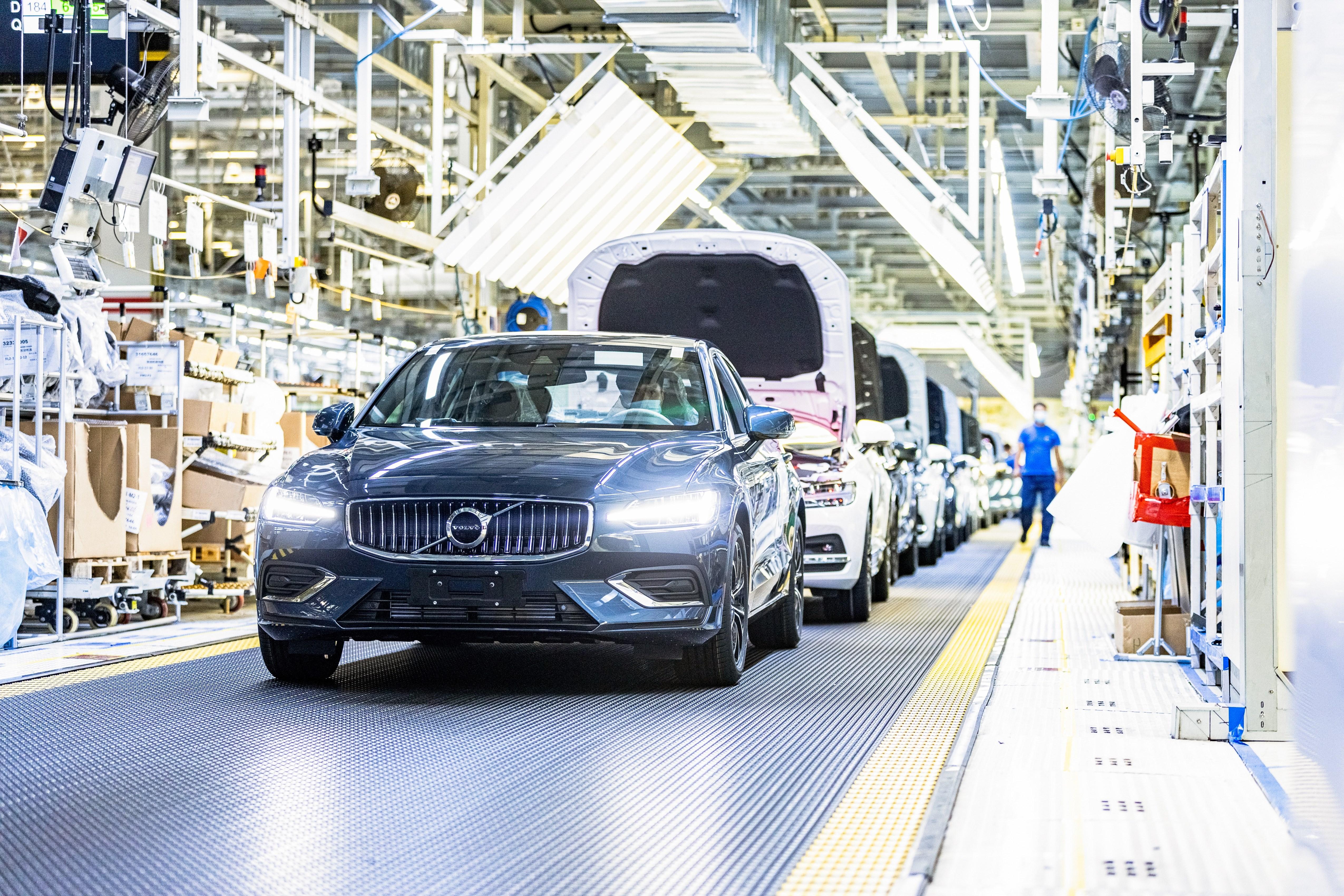 沃尔沃汽车大庆工厂实现100%电能碳中和