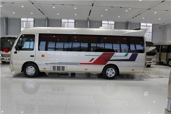 丰田考斯特改装款商务车 丰田柯斯达商务车