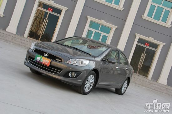 长城C50 CVT版成都车展首发 预计9万元起售