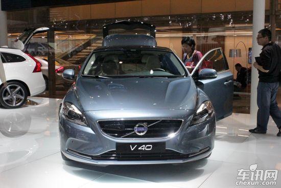 沃尔沃V40明年1季度进口 定位运动A级车