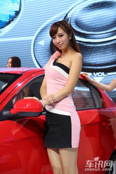 一汽吉林2号车模