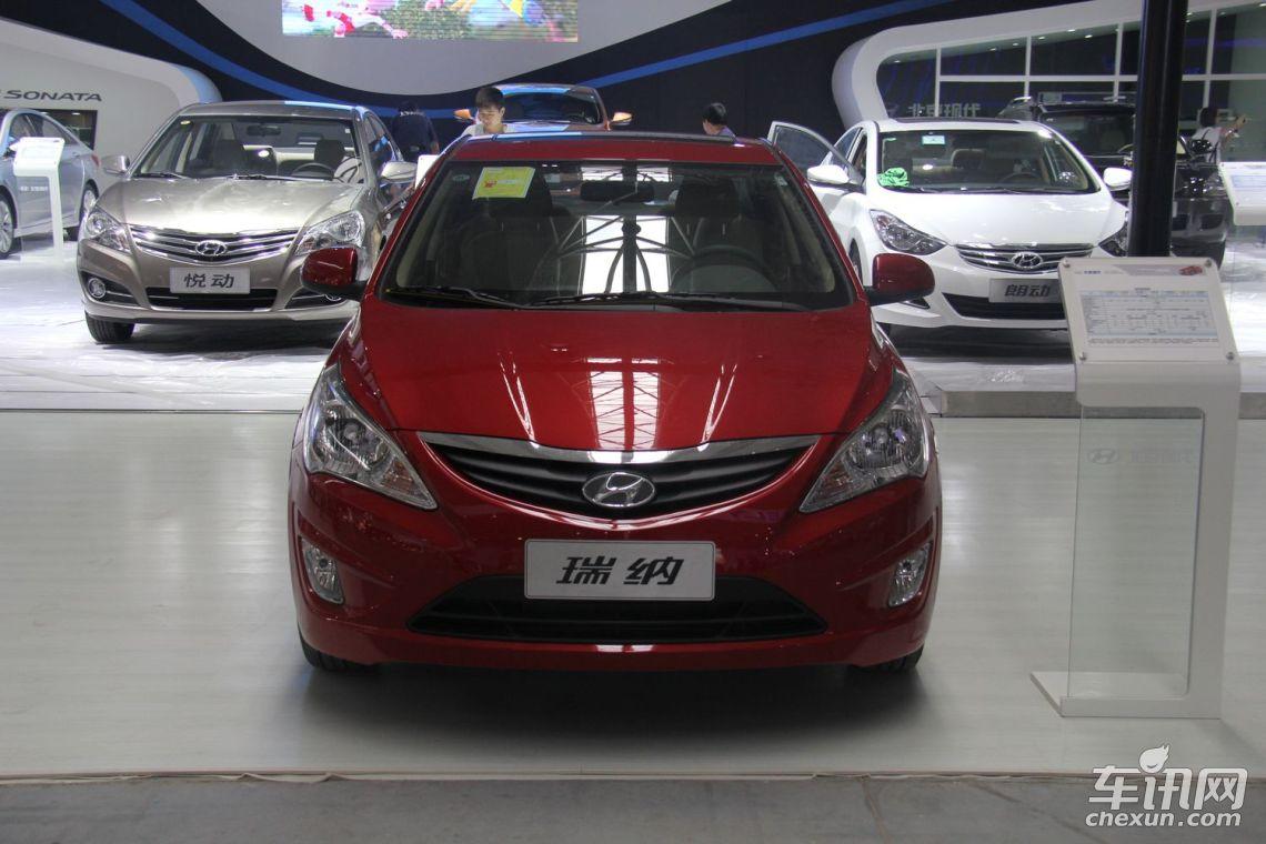 编辑在北京仁鑫恒大汽车销售有限公司发现,店内刚到一批北京现代瑞纳