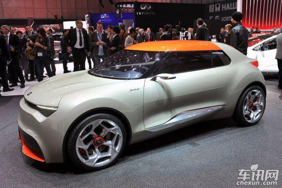 [日内瓦车展]起亚Provo概念车发布 混动车