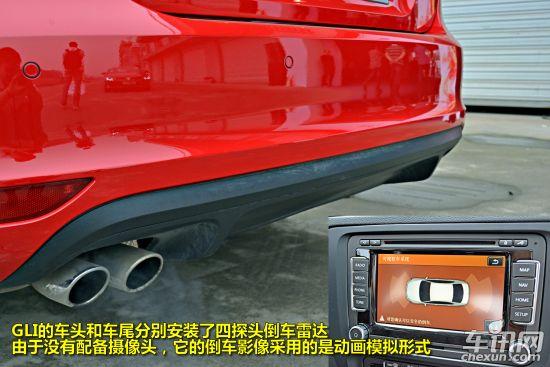 赛道试驾大众新速腾GLI 底盘升级 加速迅猛 -速腾GLI外部配置