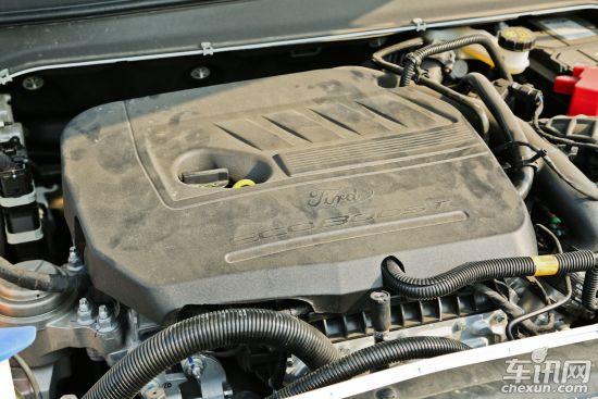 不过蒙迪欧匹配的6速自动变速箱则彻底的将发动机