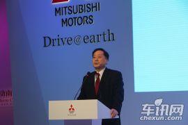 2014成都国际车展-进口三菱发布会