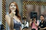 清纯靓丽 4K视角看2014釜山�车展的妹子们