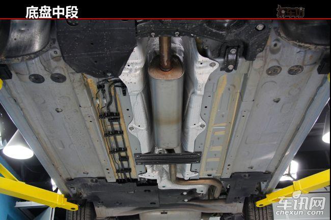 车身底盘纵梁结构图解