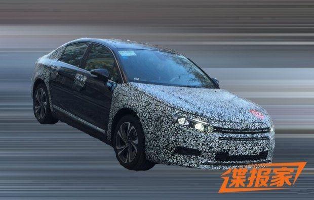曝东风雪铁龙C5最新谍照 新车有望年内发布