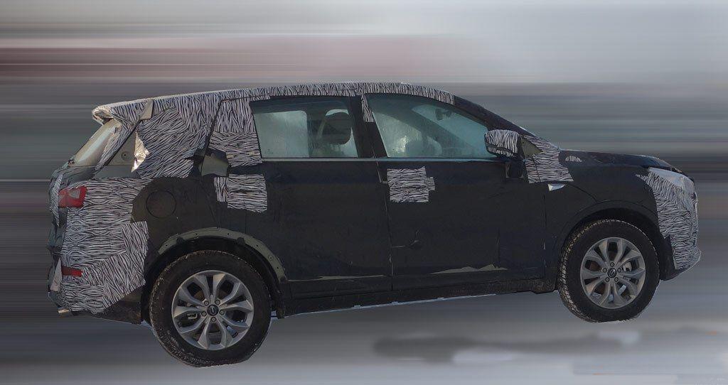 传祺全新SUV谍照曝光 或为广汽传祺GS3车型