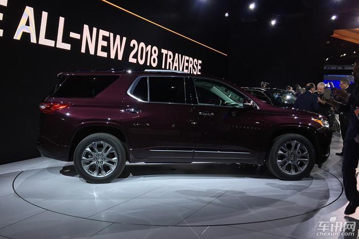 雪佛兰新Traverse亮相北美车展 中大型SUV