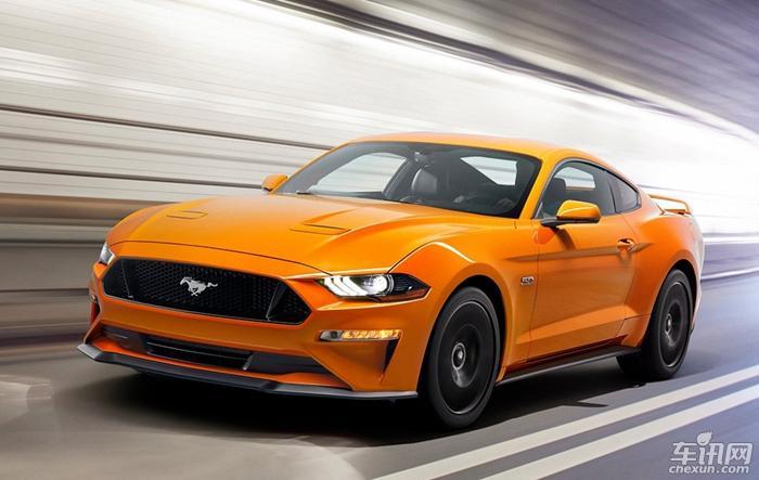 新款福特Mustang官图发布 配备10AT变速箱