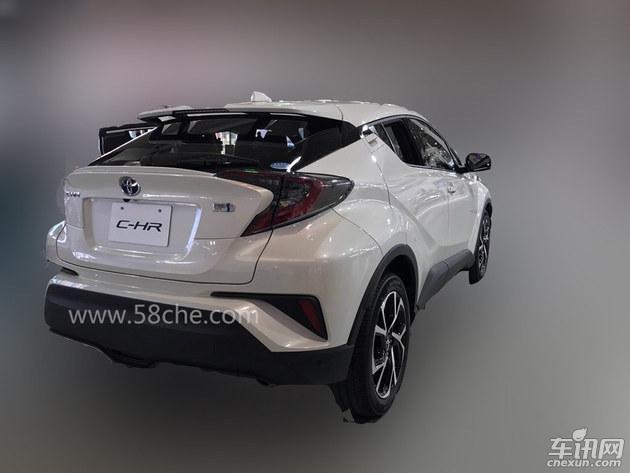 丰田C-HR最新动向曝光 或于2018年初上市