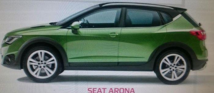 西雅特新SUV Arona假想图曝光 今年9月发布