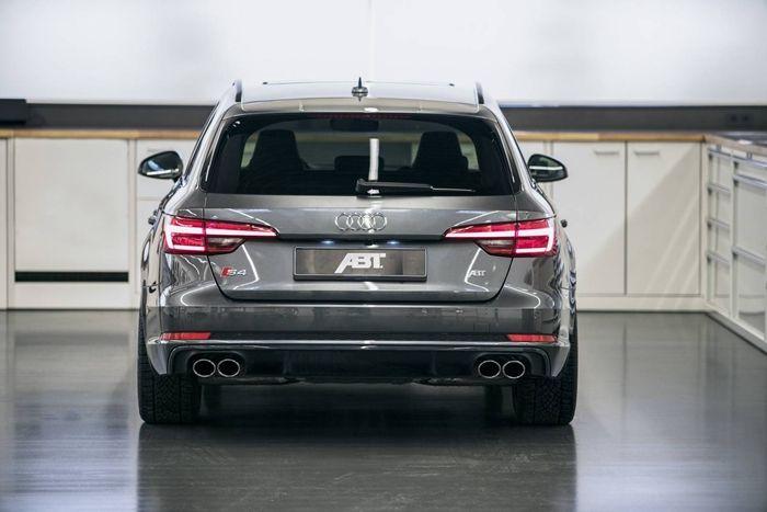 奥迪S4 Avant进行简单升级 更加具有运动性