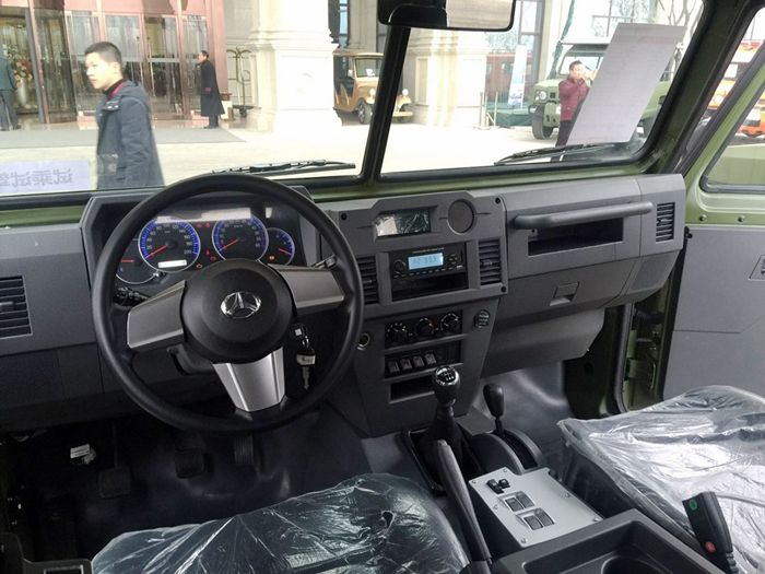 北汽新款勇士正式上市 售价13万元-18万元