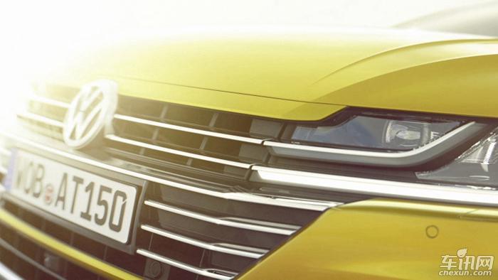 大众发布换代CC预告图 将亮相日内瓦车展