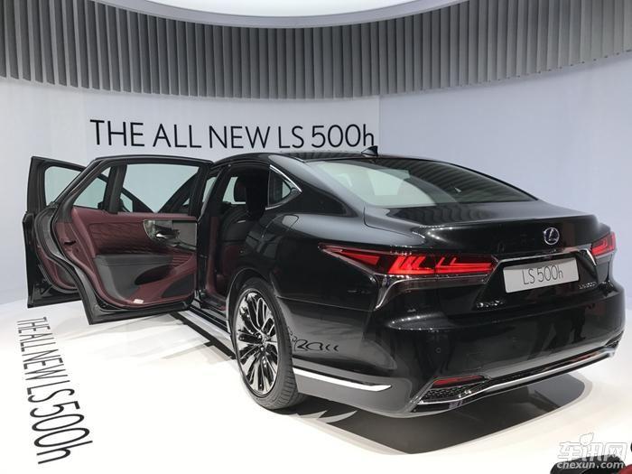 2017日内瓦车展:雷克萨斯LS 500h正式发布