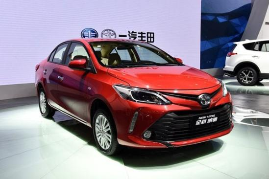 2017款丰田威驰北京最新活动现车优惠3.5万高清图片