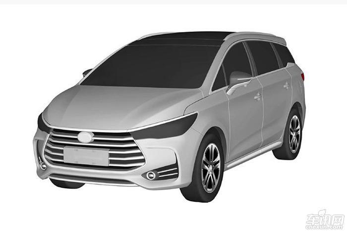 比亚迪M5实车照曝光 或于2017上海车展亮相