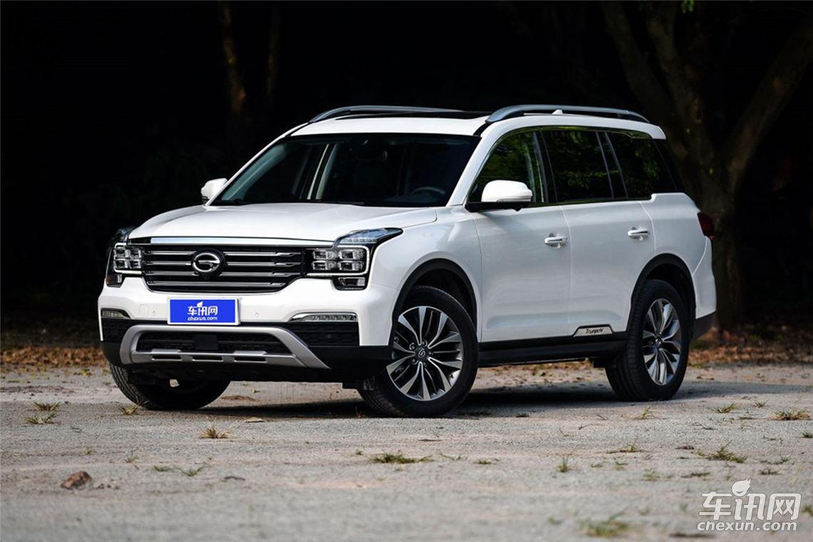 广汽传祺GS8四驱版最新消息 4月份陆续交付