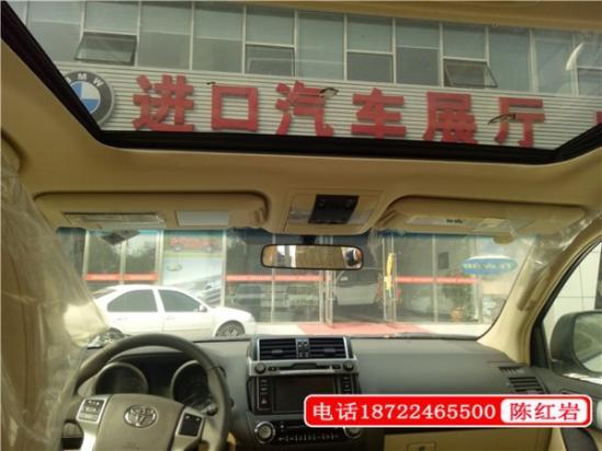 17款中东版丰田霸道4000天津港优惠促销