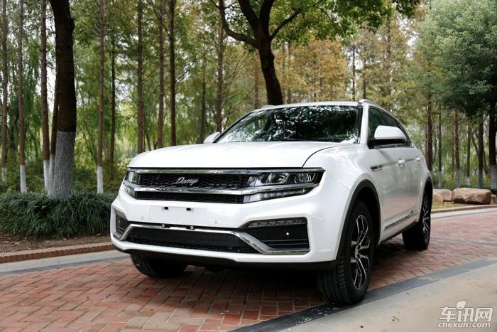 大迈X7 自动挡谍照曝光 将于上海车展亮相
