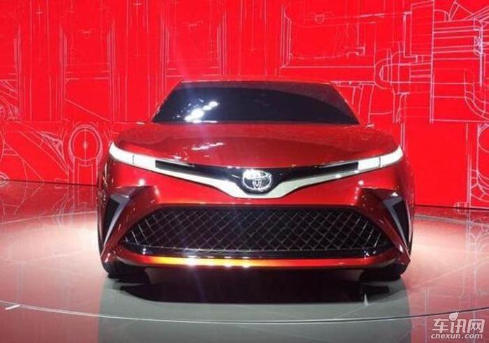2017上海车展:换代凯美瑞概念车正式亮相