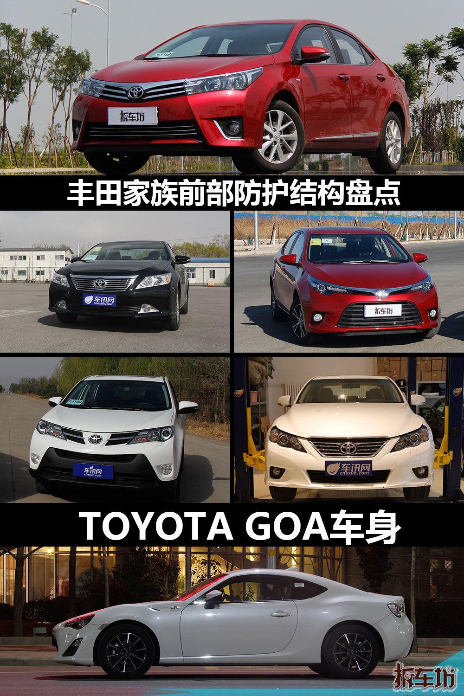 丰田车系车身电路图