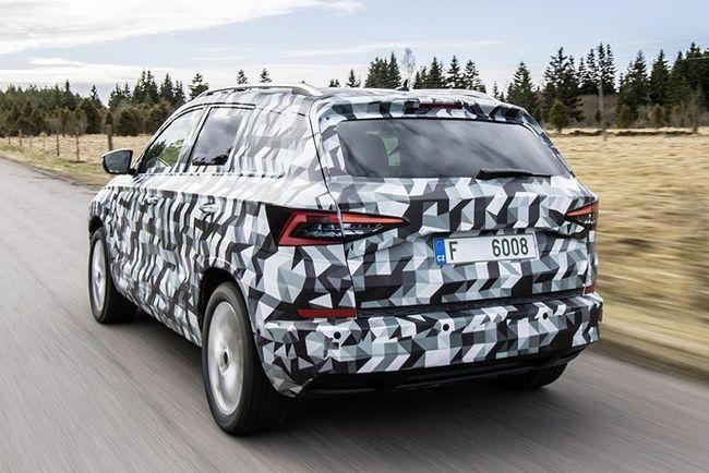 斯柯达全新SUV将于5月18日亮相 定名KAROQ