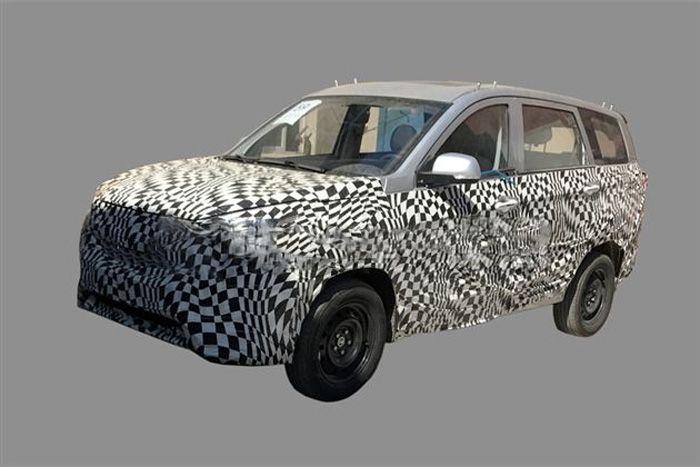 宝骏全新SUV车型再曝光 内饰设计或定型