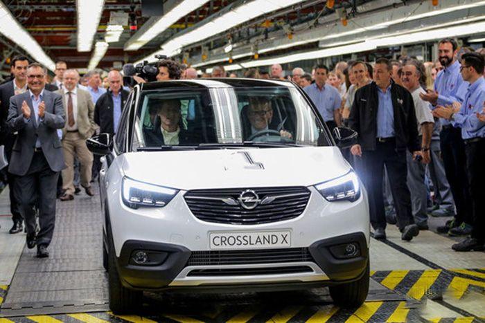 欧宝Crossland X车型下线 未来或换标国产