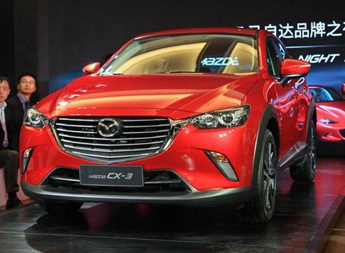 马自达CX-3先进口后国产 预售价或13万元起