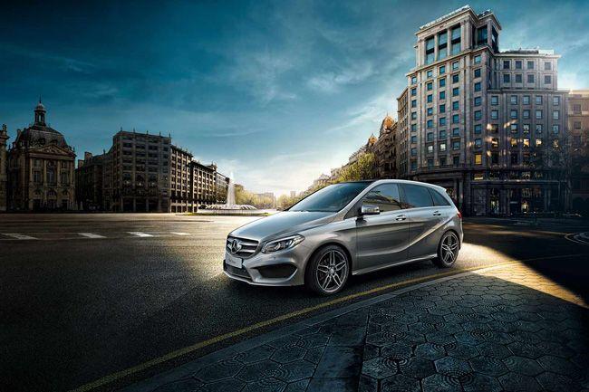 新款奔驰B级正式上市 售价为24.2-36.8万元