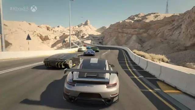 键盘车神?保时捷911 GT2RS首秀E3游戏展!