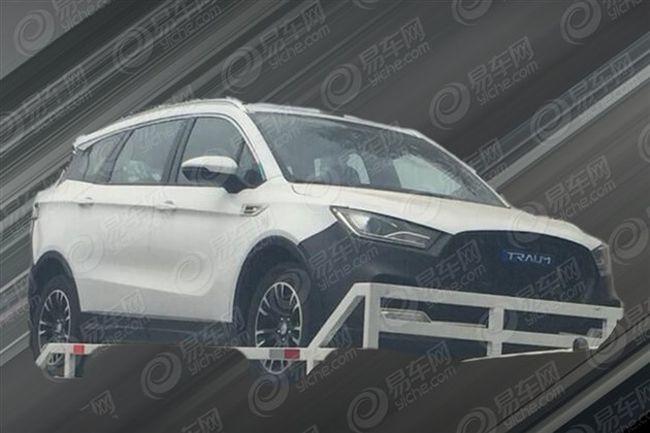 君马首款SUV实车谍照曝光 定位紧凑型SUV