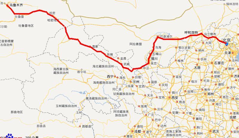 g7高速公路具体线路图_g7高速公路线路图