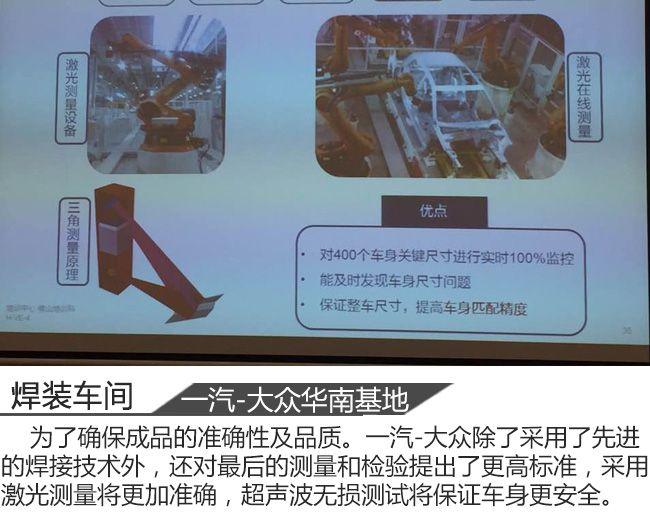 从钢板到一辆汽车 一汽-大众华南基地见闻