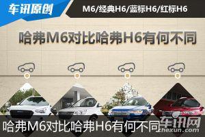 哈弗M6上市8.98万元起 对比哈弗H6有何不同