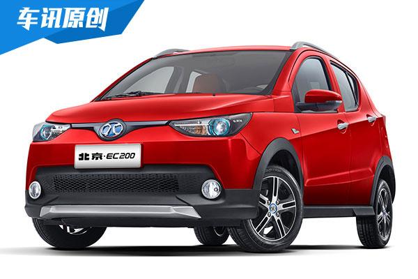 北京•EC200售15.88万起 成都车展正式亮相