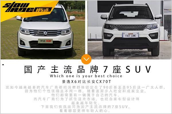 目标年轻化 两款国产主流7座SUV该选谁
